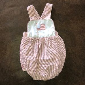 Little English American Flag Bubble Size 6 Months